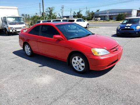 2002 Honda Civic for sale at Jamrock Auto Sales of Panama City in Panama City FL