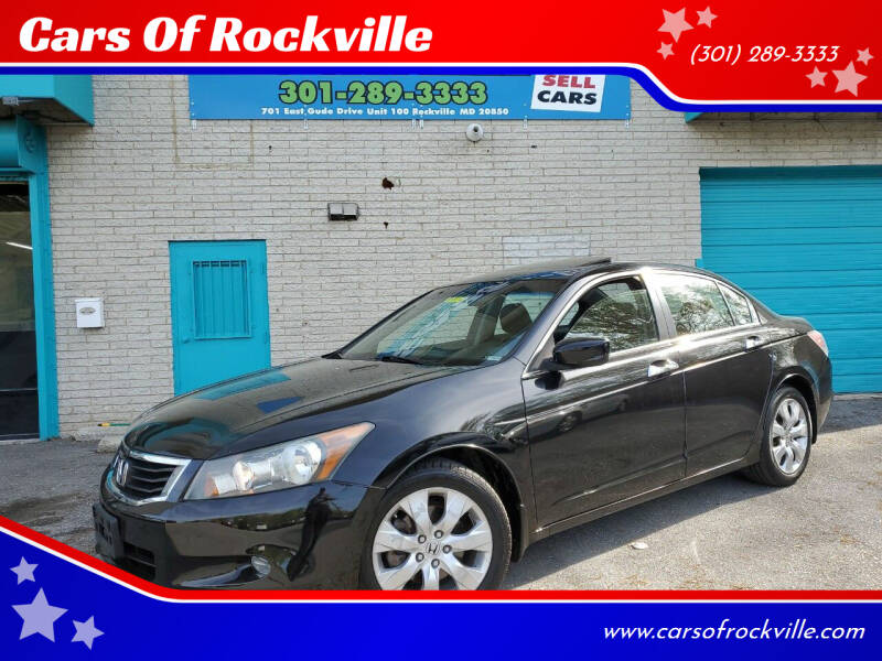 2009 Honda Accord for sale at Cars Of Rockville in Rockville MD