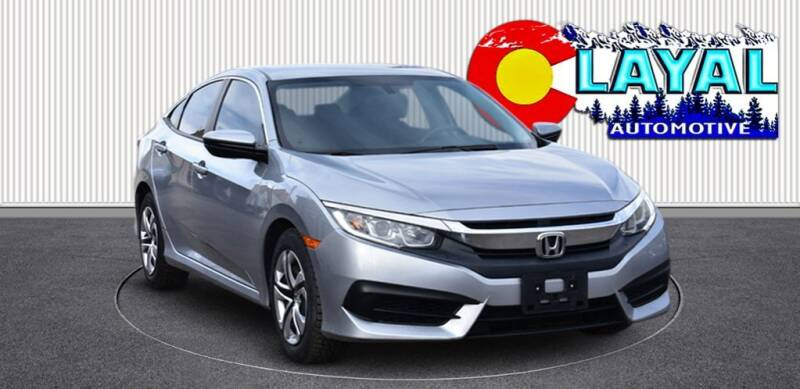 2017 Honda Civic for sale at Layal Automotive in Englewood CO