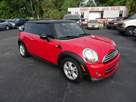2012 MINI Cooper Hardtop for sale at DONNY MILLS AUTO SALES in Largo FL