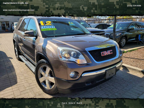 2012 GMC Acadia for sale at Capital Motors Credit, Inc. in Chicago IL