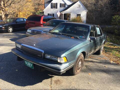 1993 Buick Century for sale at Olney Auto Sales in Springfield VT