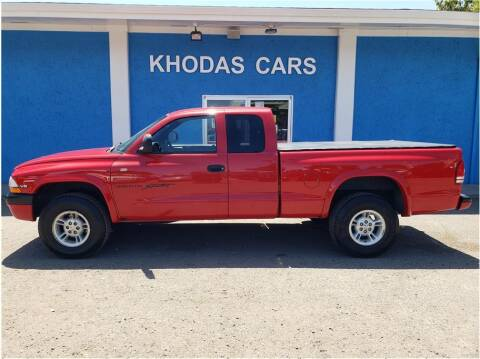 1999 Dodge Dakota for sale at Khodas Cars in Gilroy CA