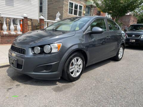 2012 Chevrolet Sonic for sale at Cypress Motors of Ridgewood in Ridgewood NY