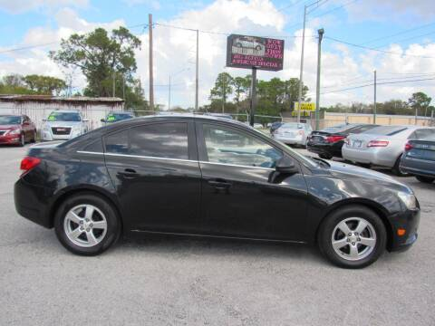 2012 Chevrolet Cruze for sale at Checkered Flag Auto Sales EAST in Lakeland FL