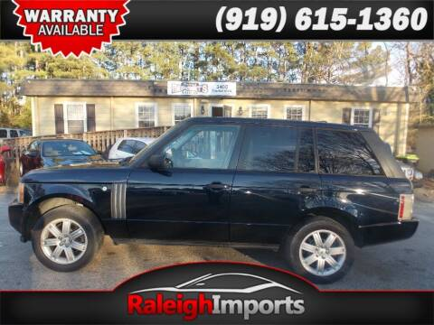 2007 Land Rover Range Rover for sale at Raleigh Imports in Raleigh NC