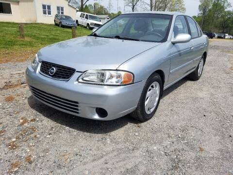 2003 Nissan Sentra for sale at NRP Autos in Cherryville NC
