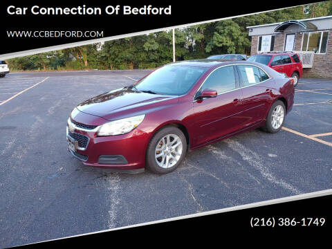 2016 Chevrolet Malibu Limited for sale at Car Connection of Bedford in Bedford OH