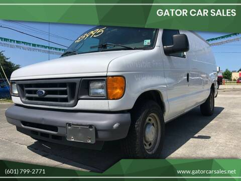 2006 Ford E-Series Cargo for sale at Gator Car Sales in Picayune MS