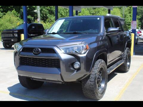2016 Toyota 4Runner for sale at Inline Auto Sales in Fuquay Varina NC