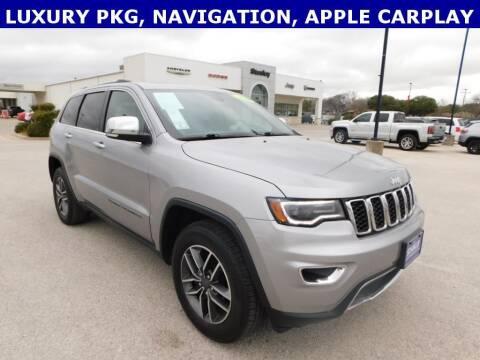 2019 Jeep Grand Cherokee for sale at Stanley Chrysler Dodge Jeep Ram Gatesville in Gatesville TX