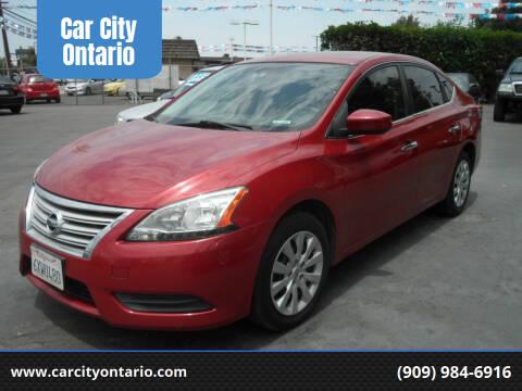 2013 Nissan Sentra for sale at Car City Ontario in Ontario CA