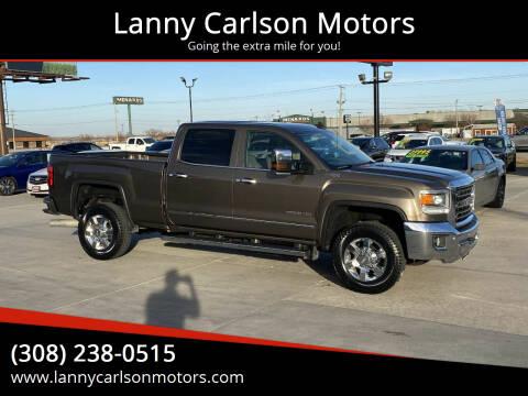 2015 GMC Sierra 2500HD for sale at Lanny Carlson Motors in Kearney NE