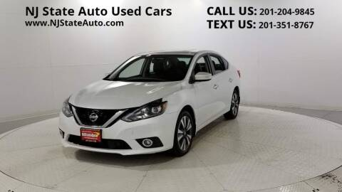 2018 Nissan Sentra for sale at NJ State Auto Auction in Jersey City NJ