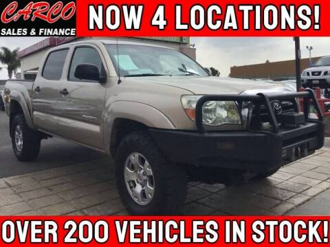 2008 Toyota Tacoma for sale at CARCO SALES & FINANCE #3 in Chula Vista CA
