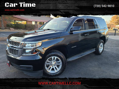 2015 Chevrolet Tahoe for sale at Car Time in Denver CO