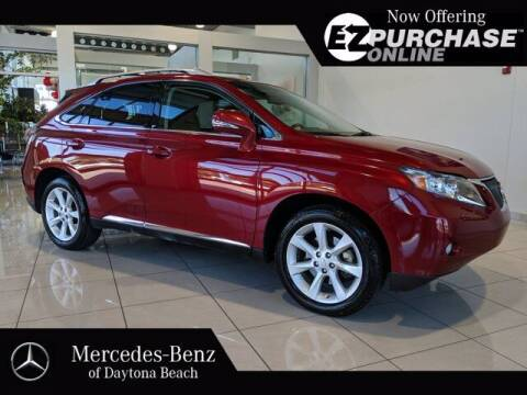 2011 Lexus RX 350 for sale at Mercedes-Benz of Daytona Beach in Daytona Beach FL