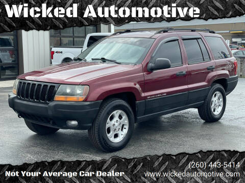 2000 Jeep Grand Cherokee for sale at Wicked Automotive in Fort Wayne IN