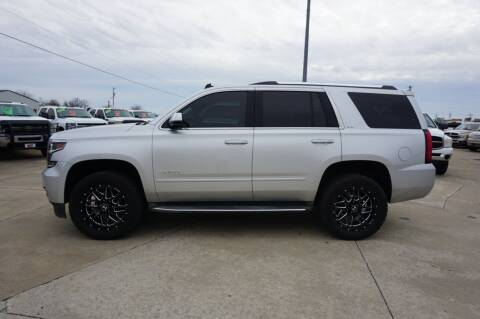 2015 Chevrolet Tahoe for sale at Ratts Auto Sales in Collinsville OK