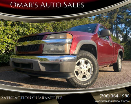 2007 Chevrolet Colorado for sale at Omar's Auto Sales in Martinez GA