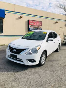 2019 Nissan Versa for sale at Capital Car Sales of Columbia in Columbia SC