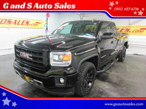 2015 GMC Sierra 1500 for sale at G and S Auto Sales in Ardmore TN