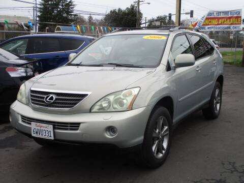 2006 Lexus RX 400h for sale at General Auto Sales Corp in Sacramento CA