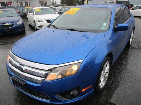 2012 Ford Fusion for sale at GMA Of Everett in Everett WA