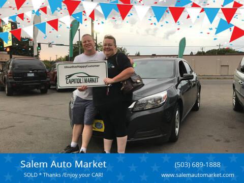 2015 Chevrolet Malibu for sale at Salem Auto Market in Salem OR