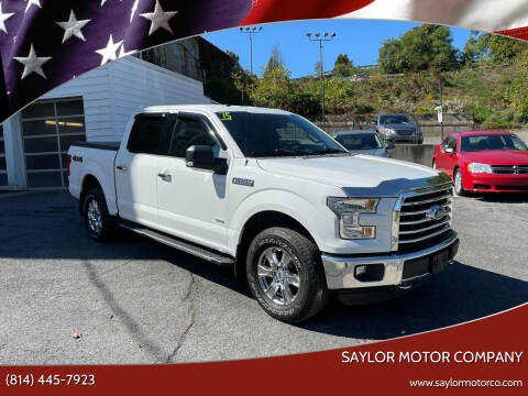2015 Ford F-150 for sale at Saylor Motor Company in Somerset PA