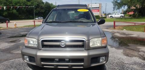 2003 Nissan Pathfinder for sale at Anthony's Auto Sales of Texas, LLC in La Porte TX