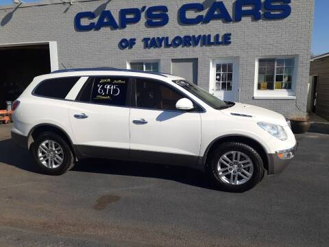 2008 Buick Enclave for sale at Caps Cars Of Taylorville in Taylorville IL