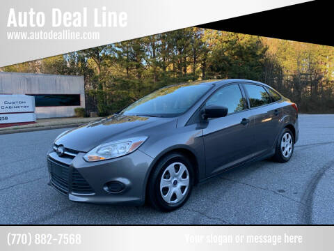 2013 Ford Focus for sale at Auto Deal Line in Alpharetta GA