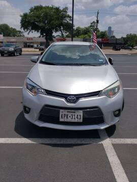 2015 Toyota Corolla for sale at SBC Auto Sales in Houston TX