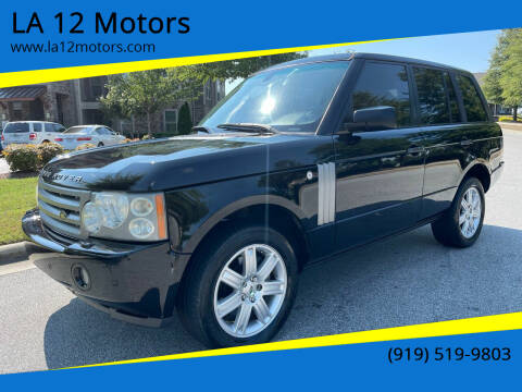 2006 Land Rover Range Rover for sale at LA 12 Motors in Durham NC