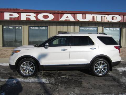2014 Ford Explorer for sale at Pro Auto Sales in Carroll IA