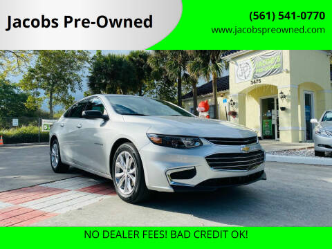 2018 Chevrolet Malibu for sale at Jacobs Pre-Owned in Lake Worth FL