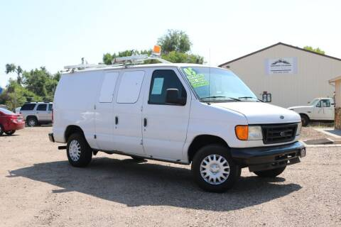 2005 Ford E-Series Cargo for sale at Northern Colorado auto sales Inc in Fort Collins CO