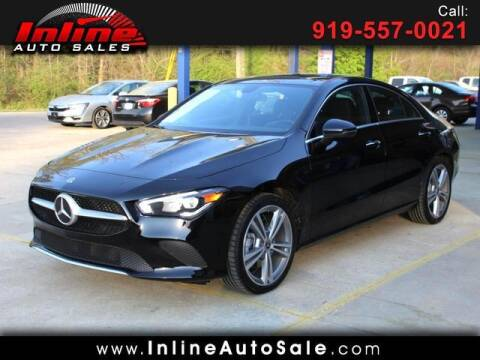 2021 Mercedes-Benz CLA for sale at Inline Auto Sales in Fuquay Varina NC