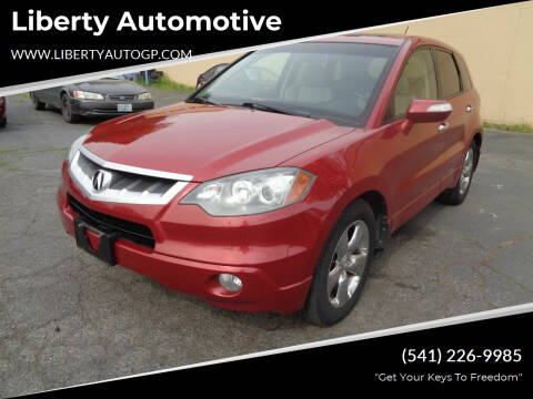 2007 Acura RDX for sale at Liberty Automotive in Grants Pass OR