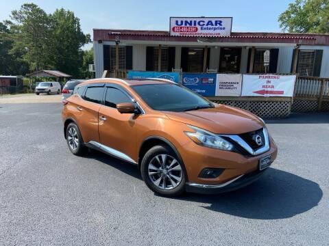 2015 Nissan Murano for sale at Unicar Enterprise in Lexington SC