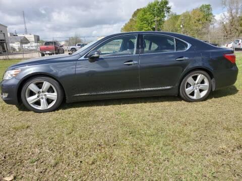 2010 Lexus LS 460 for sale at CAPITOL AUTO SALES LLC in Baton Rouge LA