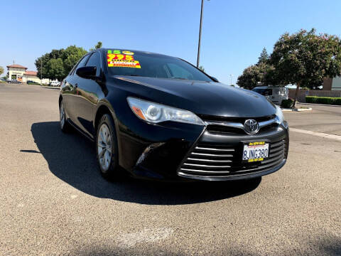 2015 Toyota Camry for sale at D & I Auto Sales in Modesto CA
