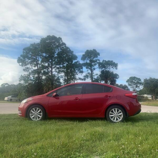 2014 Kia Forte LX 4dr Sedan 6A - Palm Bay FL