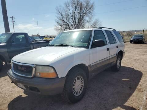1998 GMC Envoy for sale at PYRAMID MOTORS - Pueblo Lot in Pueblo CO