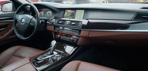 2013 BMW 5 Series for sale at Car Leaders NJ, LLC in Hasbrouck Heights NJ