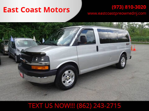 2010 Chevrolet Express Passenger for sale at East Coast Motors in Lake Hopatcong NJ