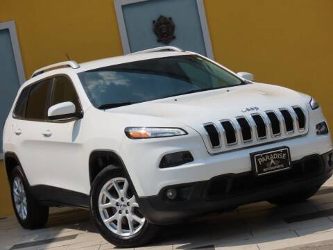 2018 Jeep Cherokee for sale at Paradise Motor Sports LLC in Lexington KY