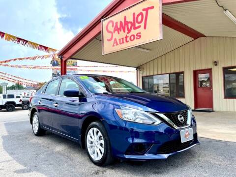 2018 Nissan Sentra for sale at Sandlot Autos in Tyler TX