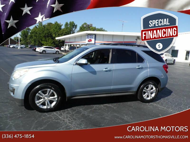 2014 Chevrolet Equinox for sale at CAROLINA MOTORS in Thomasville NC